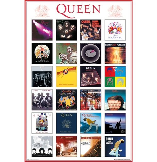 Queen - Covers (Poster Maxi 61X91,5 Cm)