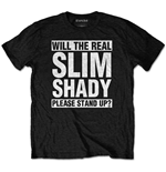 T-shirt Eminem unisex - Design: The Real Slim Shady