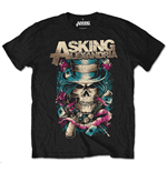 Asking ALEXANDRIA: Hat Skull (T-SHIRT Unisex )