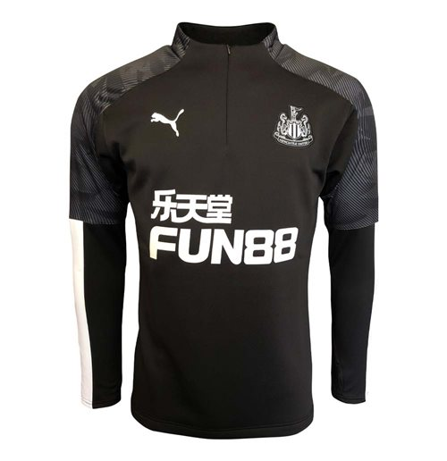 Felpa Newcastle United 2019-2020 (Nero)