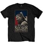 T-shirt Willie Nelson unisex - Design: Born For Trouble