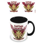Captain Marvel (Protector) Black (Tazza)