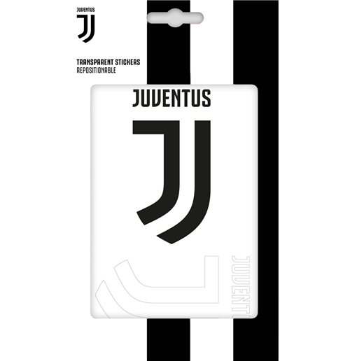Imagicom Walljuv103 - Juventus Transparent Pvc Sticker Black & White