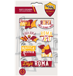 Imagicom Puffrom02 - As Roma Puffy Stickers Graphic