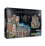 Wrebbit W3D-2017 - Game Of Thrones - 3D Puzzle 845 Pz - The Red Keep