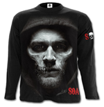Spiral - Jax Skull - Sons Of Anarchy Black (maglia Manica Lunga Unisex )