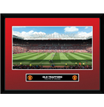 Manchester United - Old Trafford (Stampa In Cornice 30x40 Cm)