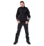 Spiral - Gothic Rock - Gothic Four Button With Lining Jackets (panciotto Uomo )