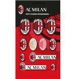 Imagicom Puffmil01 - Ac Milan Puffy Stickers Logo