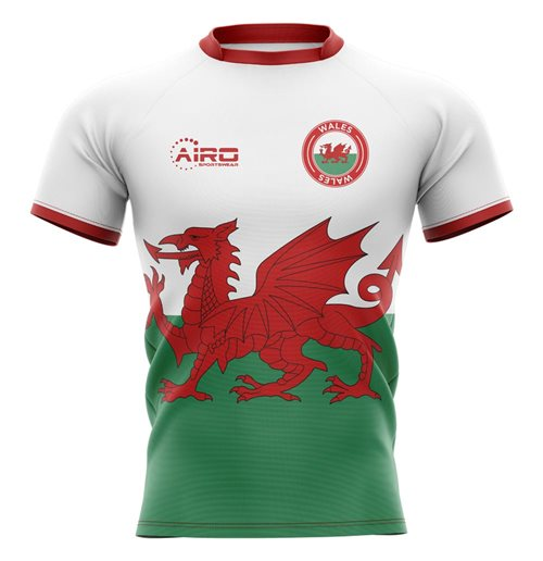 T-shirt Galles rugby 2019-2020