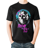 T-shirt Friday The 13TH - Design: Eighties Mask