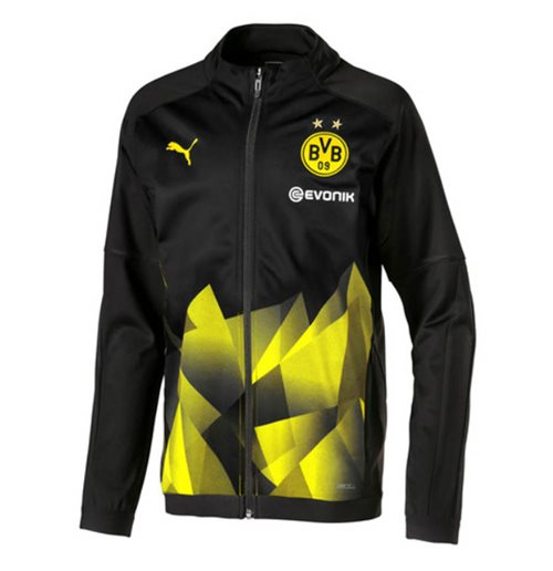 Felpa Borussia Dortmund 2019-2020 (Nero)