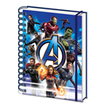 Avengers Endgame - To Action A5 Notebook (Quaderno)
