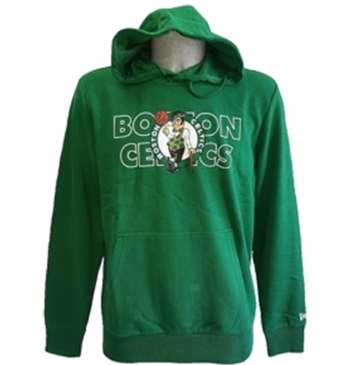 Boston Celtics Felpa Cappuccio Ufficiale Graphic