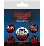 Stranger Things (Characters) Badge Pack Badges