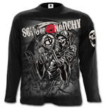 Spiral - Reaper Montage - Sons Of Anarchy Black (maglia Manica Lunga Unisex )