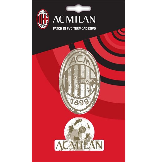 Imagicom Ironpvcmil01 - Ac Milan Iron On Patch In Pvc Logo