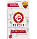 Imagicom Ironpvcrom01 - As Roma Iron On Patch In Pvc Logo