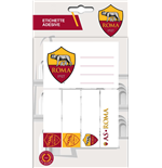 Imagicom Labrom01 - As Roma Sticky Labels Logo