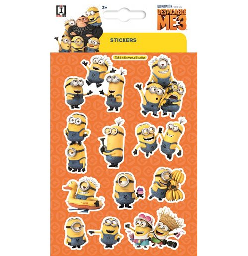 Imagicom Wallmin101 - Minions Pvc Stickers Group
