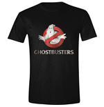 GHOSTBUSTERS: Ghost Logo Black (T-SHIRT Unisex )