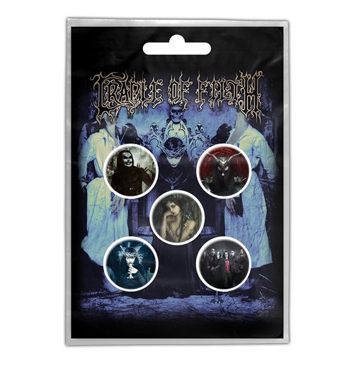 Spilla Cradle of Filth - Design: Cryptoriana