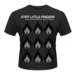 Stiff Little FINGERS: Inflammable Material (T-SHIRT Unisex )
