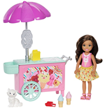 Mattel FDB33 - Barbie - Family - Accessori Chelsea - Ice Cream Car