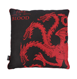 Game Of Thrones (Targaryen) Cushion Filled