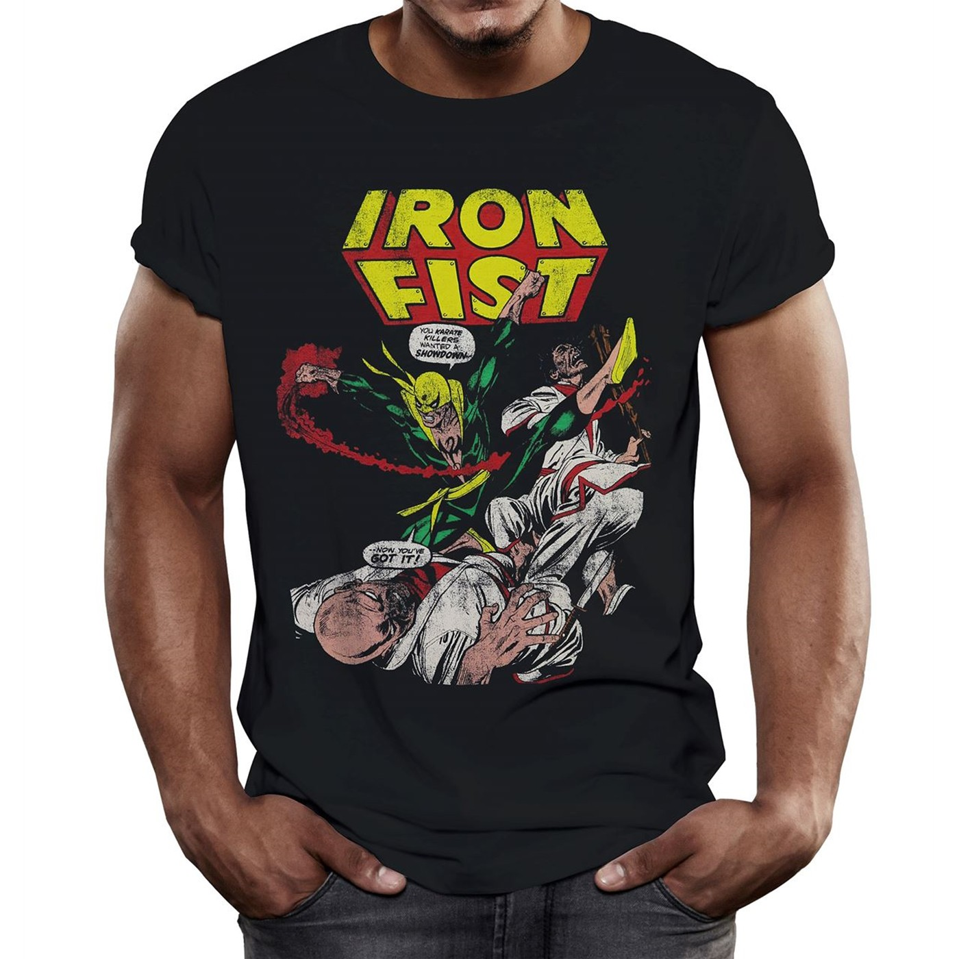 T-shirt Iron Fist da uomo