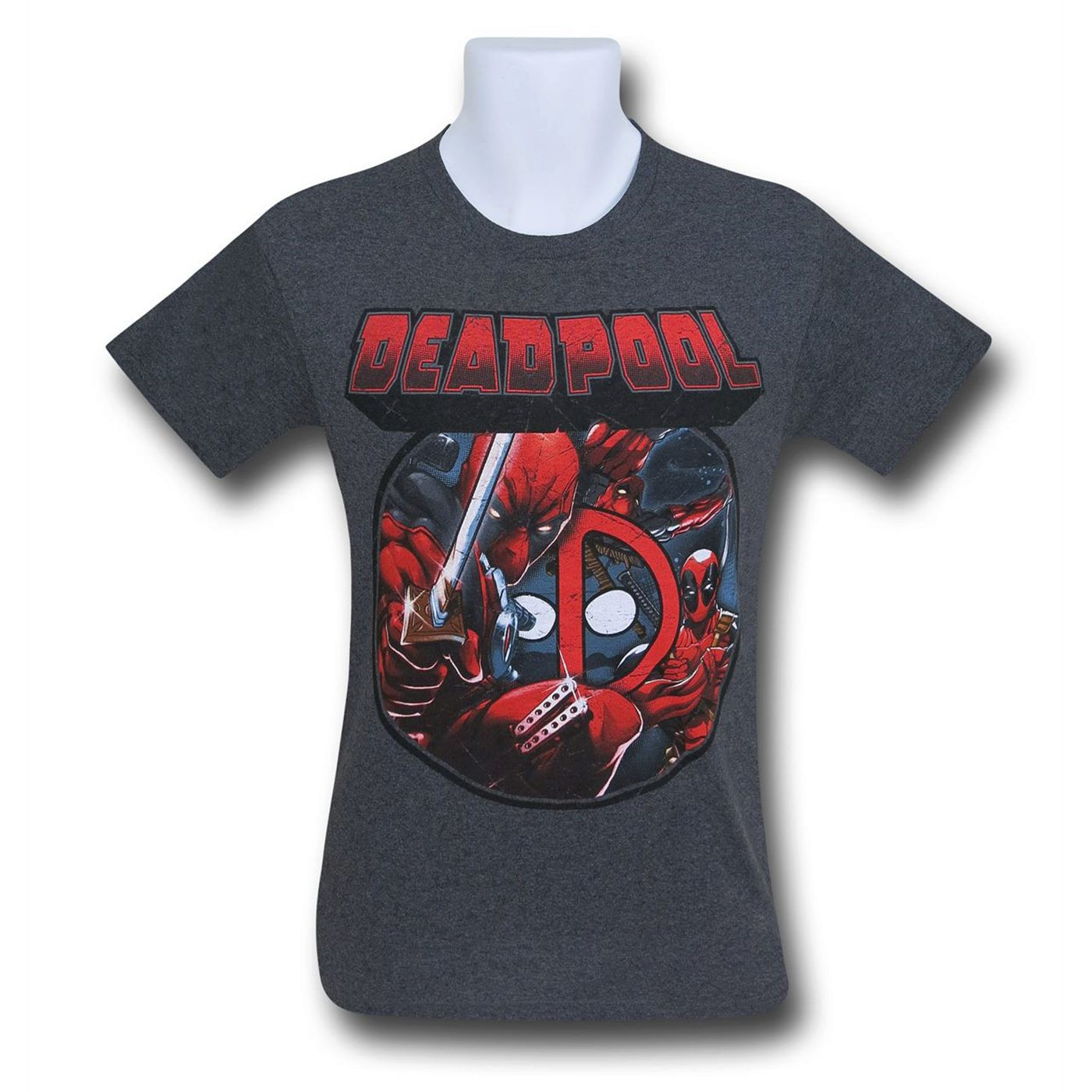 T-shirt Deadpool da uomo