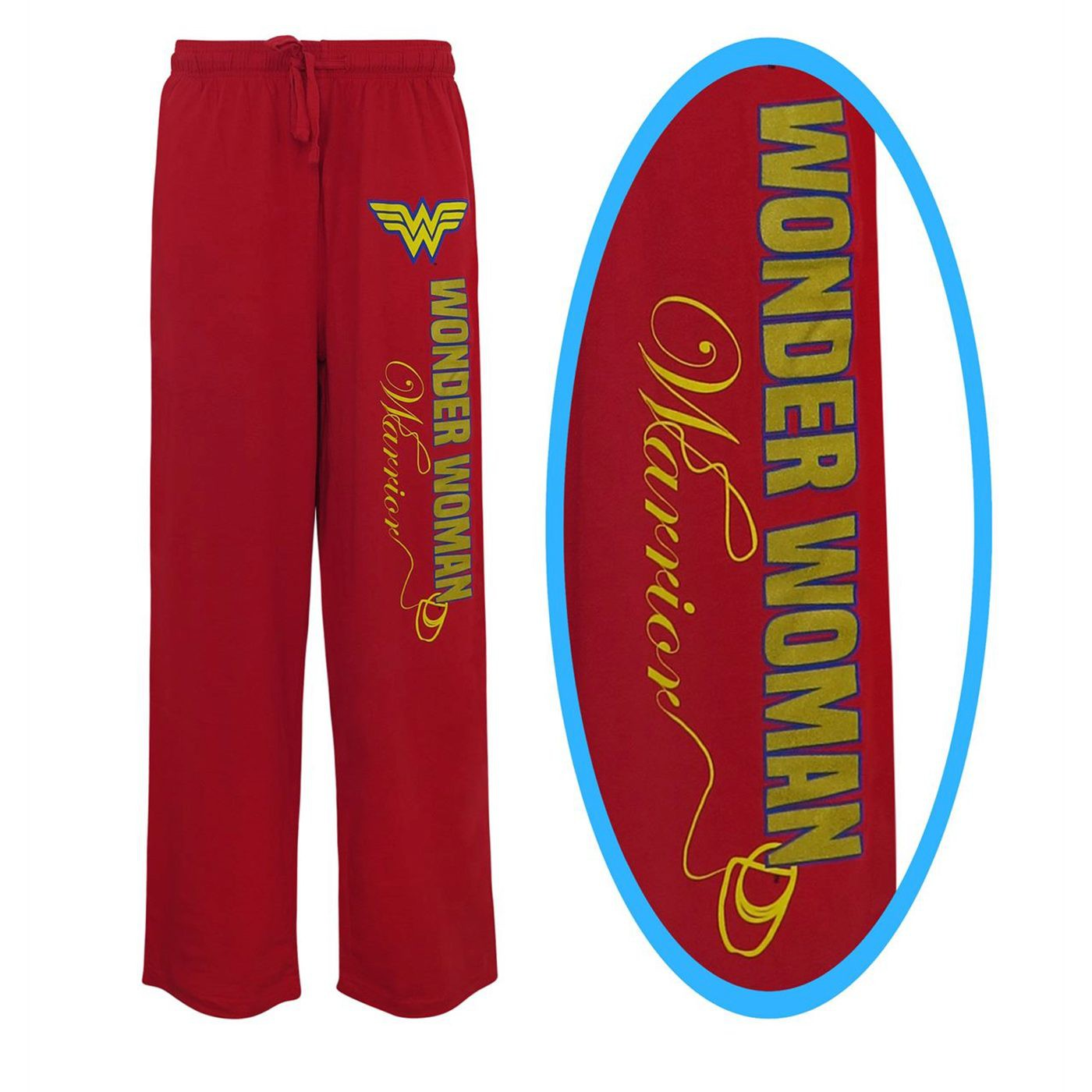 Pantaloni Wonder Woman da uomo