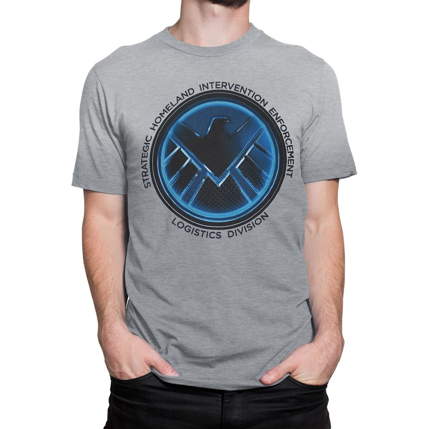 T-shirt Agents of S.H.I.E.L.D. da uomo