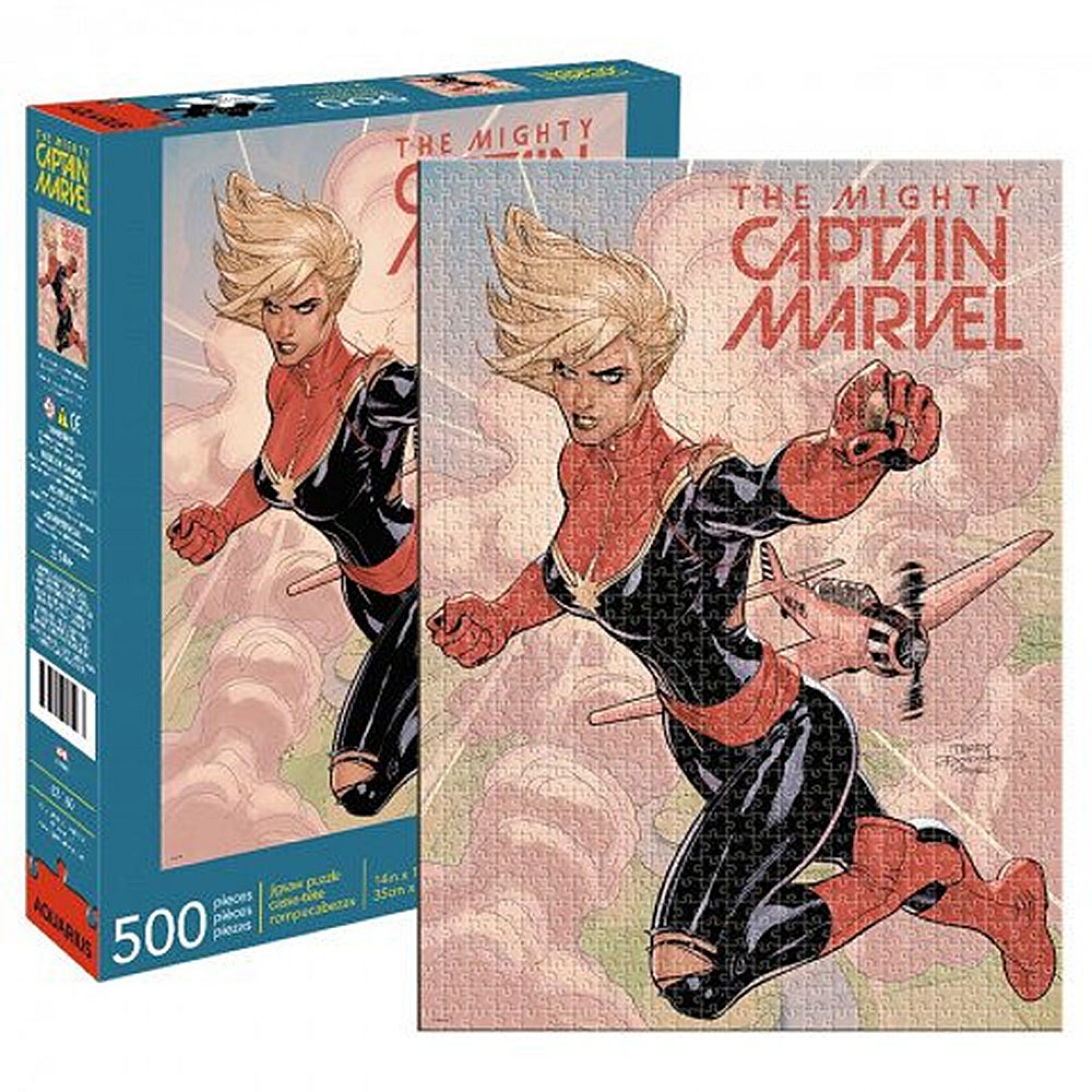 Puzzle Captain Marvel