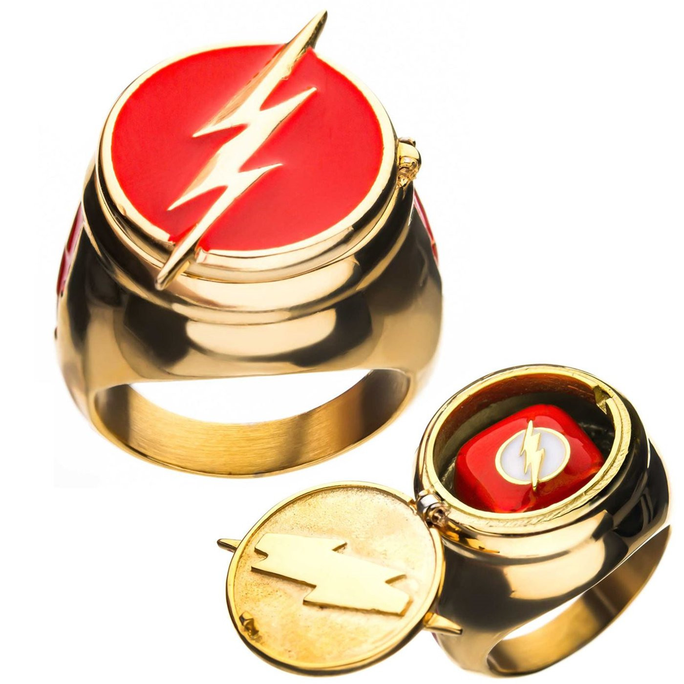 Anello The Flash da uomo