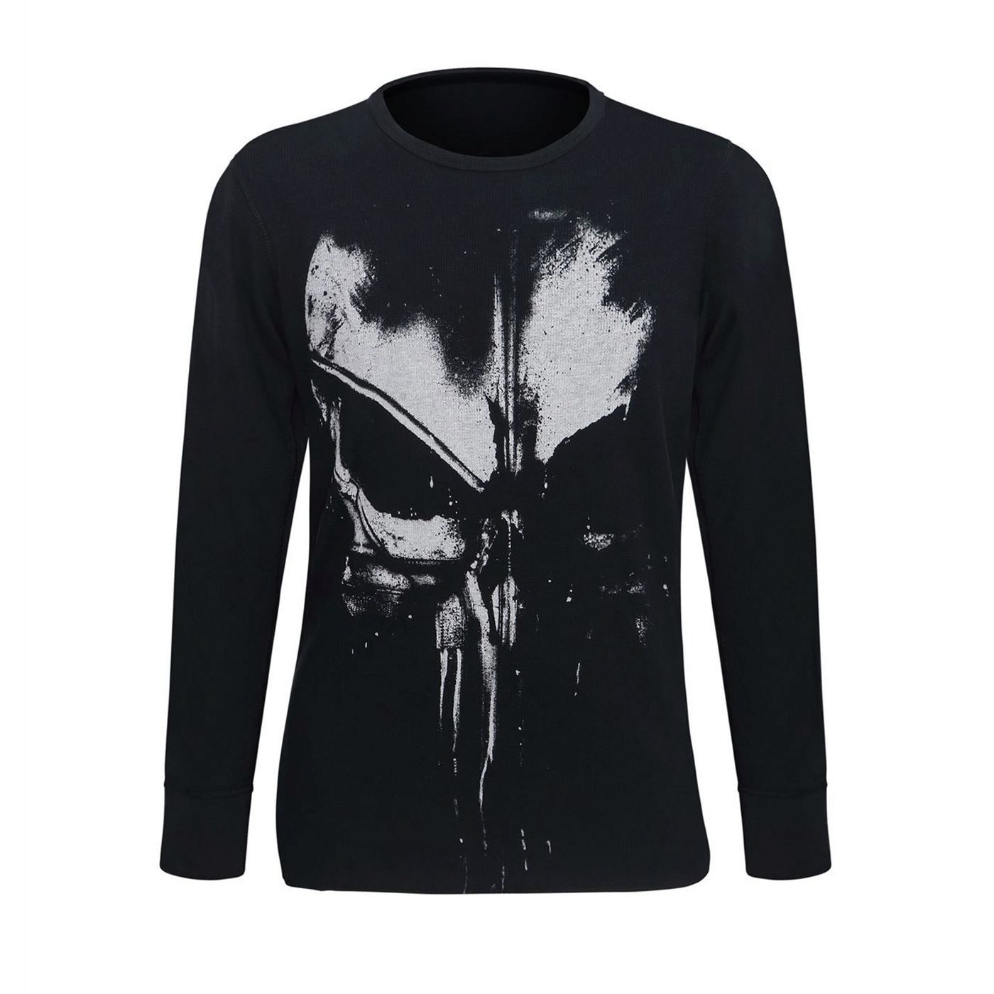 T-shirt manica lunga The punisher da uomo