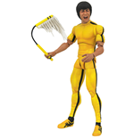 Action Figure Bruce Lee Select Yellow Jumpsuit Af