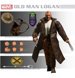 Action Figure Wolverine Old Man Logan Cloth Af