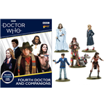 Miniature E Modellismo Doctor Who 4th Doctor And Companions