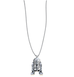 Collana Sw R2-D2 Silver Necklace