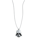 Collana Sw Darth Vader Silver Necklace