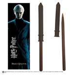 Penna Hp Draco Malfoy Wand Pen And Bookmark