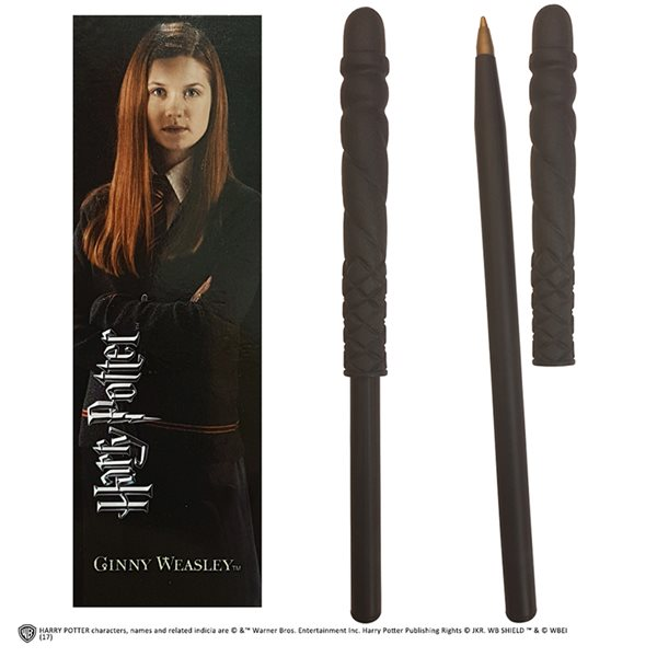 Penna Hp Ginny Wand Pen And Bookmark