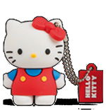 Usb Flash Drive 4gb Hello Kitty Classic
