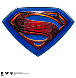 Placca Superman Man Of Steel Wall Plaque