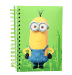 Taccuino Minions Kevin Notebook W/LIGHT And Sound