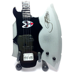 Replica Mini Guitar Kiss Gene Simmons Axe Bass