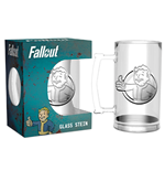 Boccale Fallout Vault Boy Glass Stein