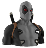 Salvadanaio Deadpool X-FORCE Deluxe Bust Bank