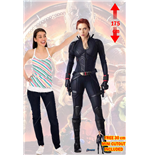 Sagomato Lifesize Endgame Black Widow Cutout